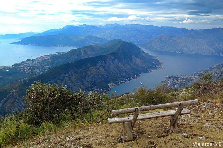 viajar a Montenegro: que ver en la bahía de Kotor