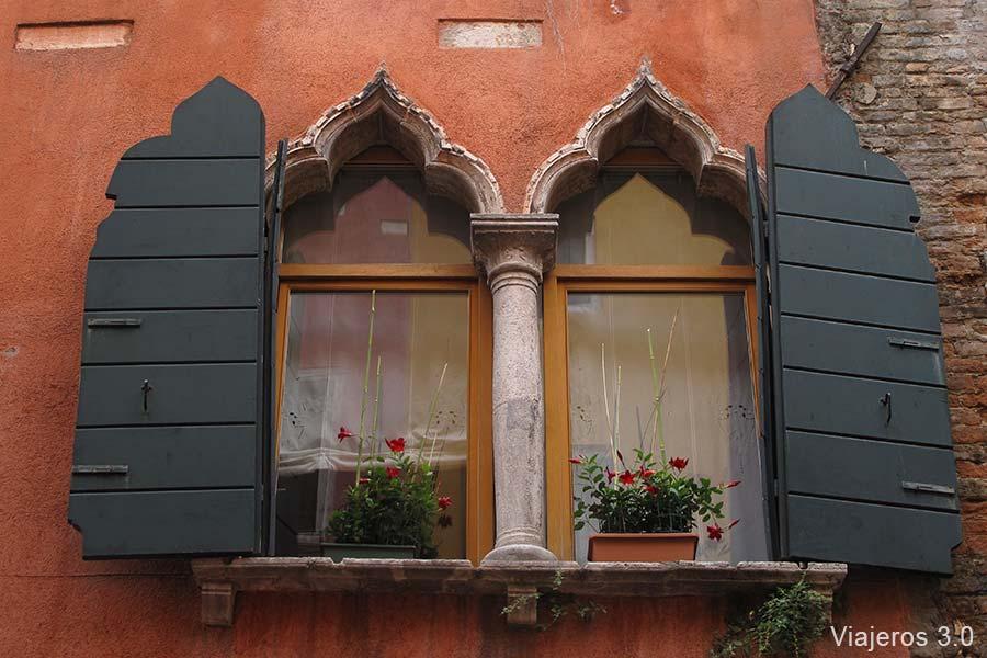 ventanas de Venecia