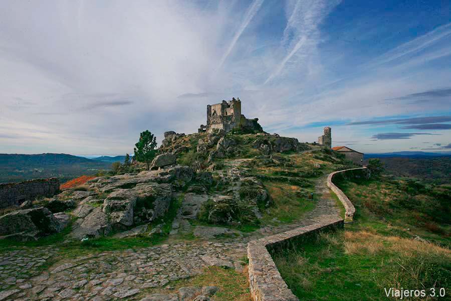 Castillo de Trevejo, qué ver cerca de Cáceres.