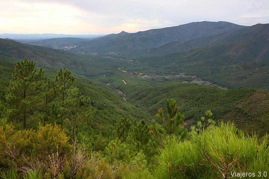 Paisajes de la Sierra de Gata.