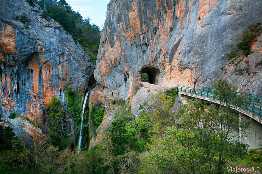 cascada de Tartalés de los Montes, el Ebro Escondido