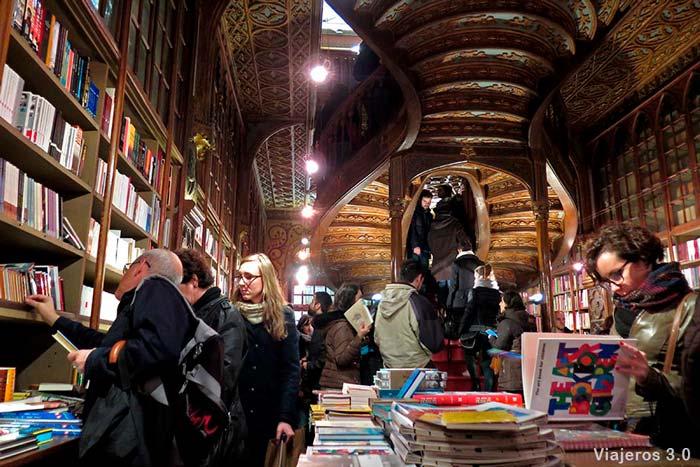 Librería Lello, dos días en Oporto