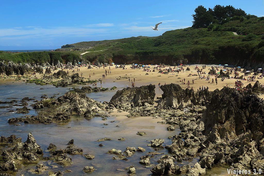 Playa de Toró, que ver en Llanes