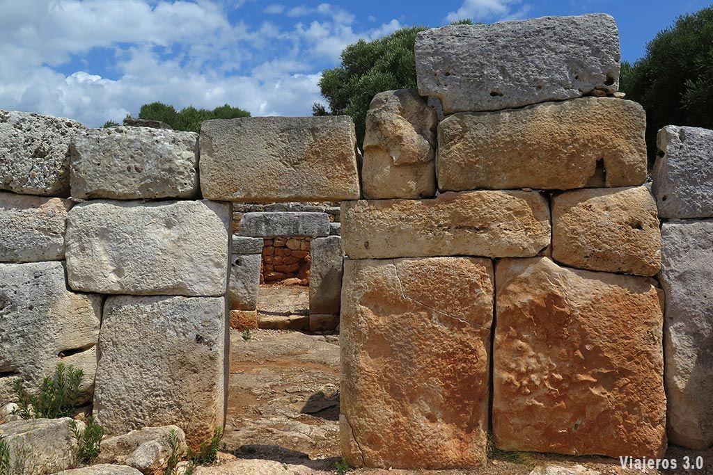 cultura talayótica en Menorca.