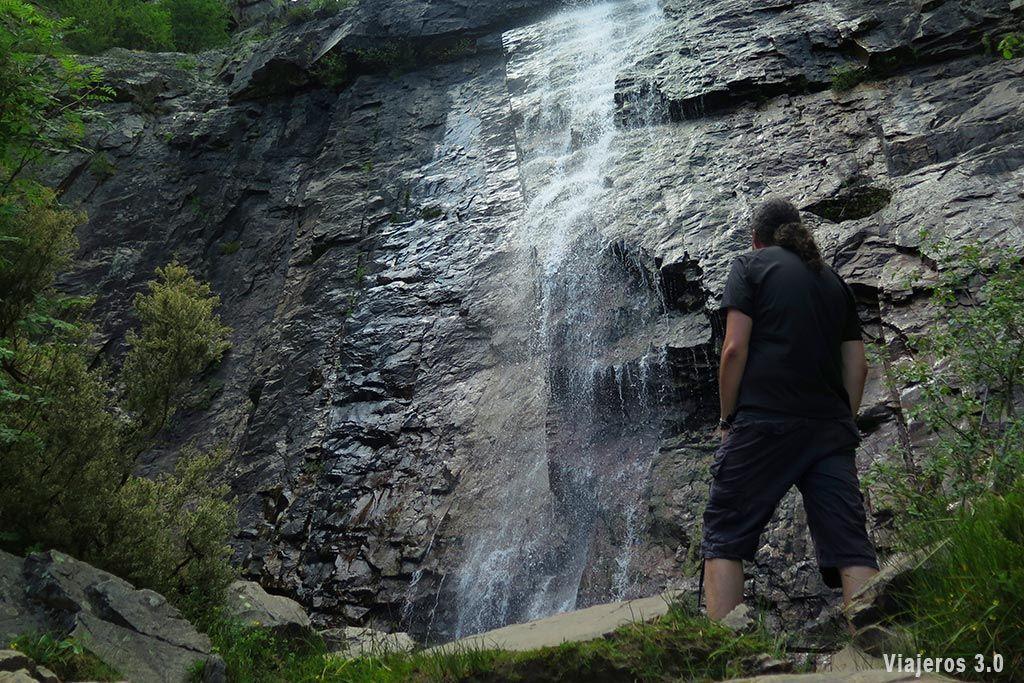 Cascada de Despeñalagua en Valverde de los Arroyos