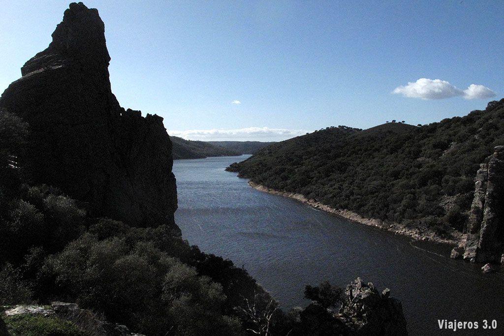 Vistas en el Parque Nacional de Monfragüe.