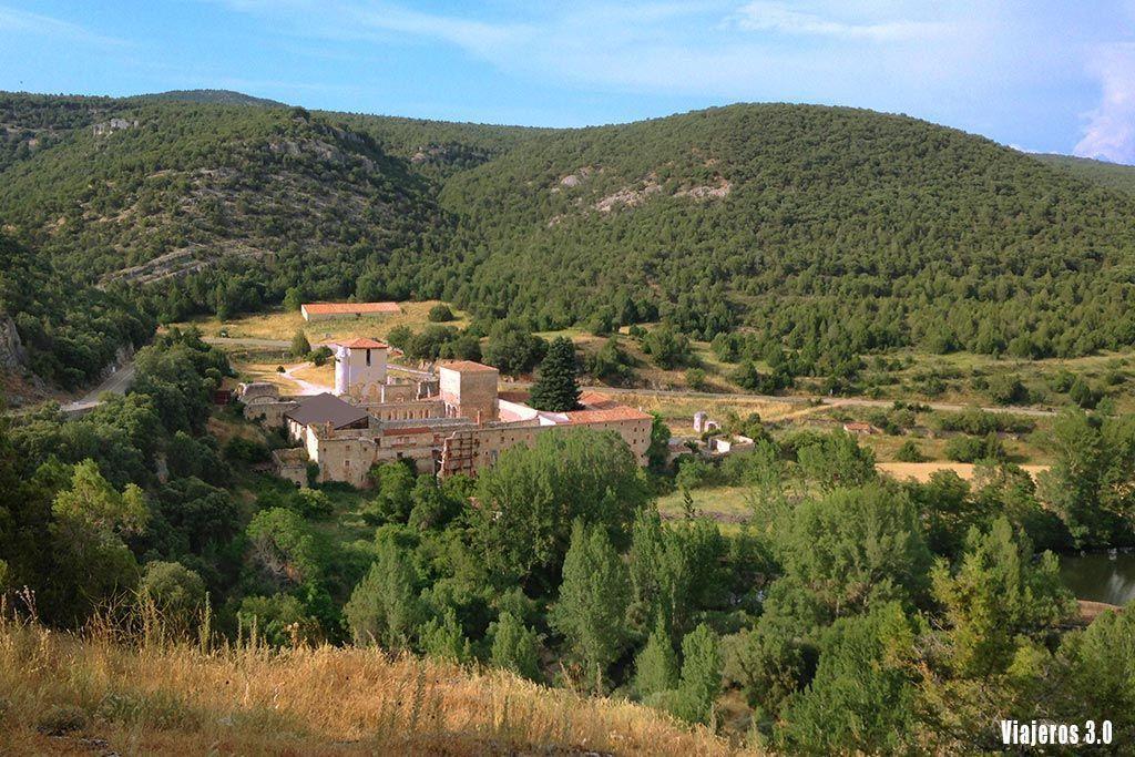 Vistas del Monasterio de San Pedro de Arlanza en la Comarca del Arlanza