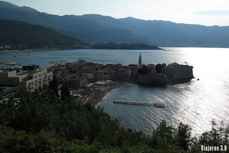 Mirador de Budva, guía de Montenegro