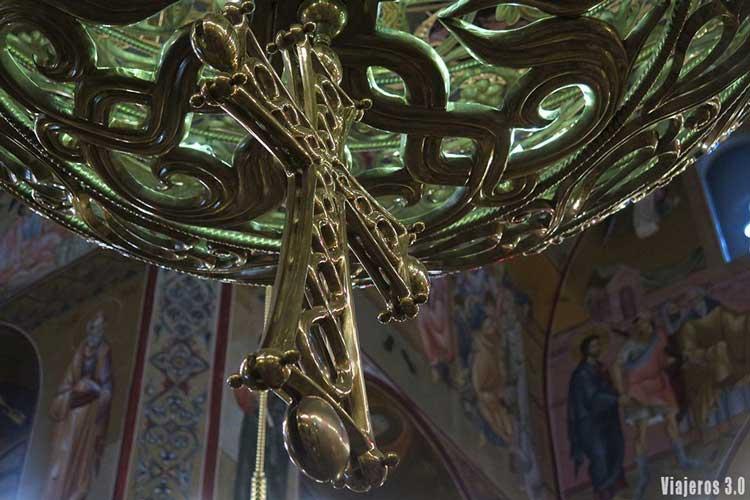 Catedral ortodoxa Podgorica, guía de Montenegro