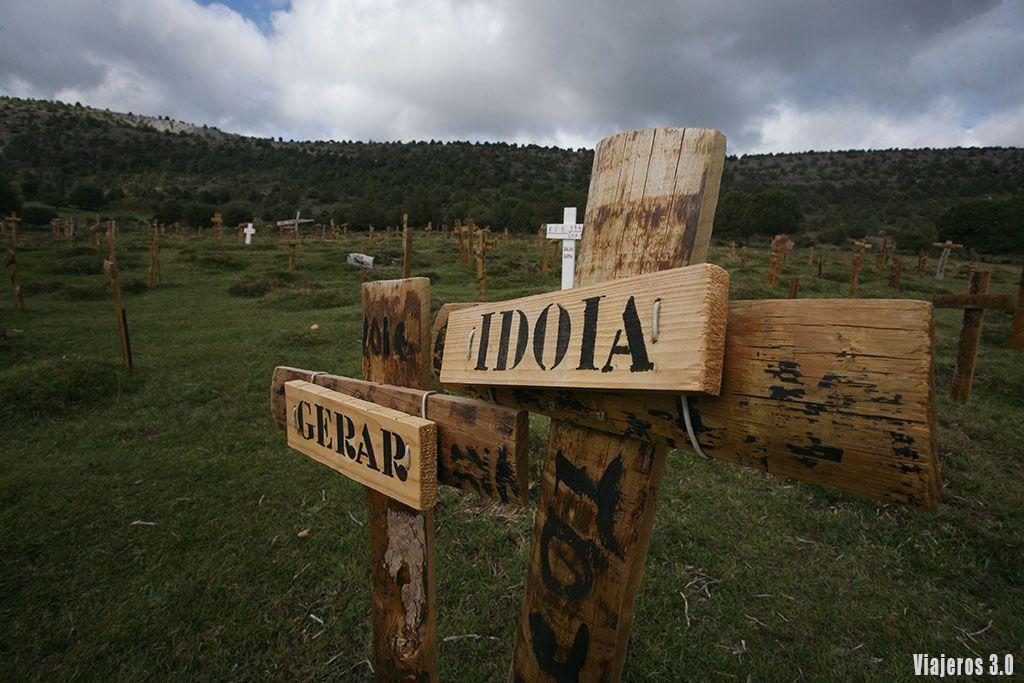 El Bueno el Feo y el Malo, cementerio de Sad Hill en Burgos