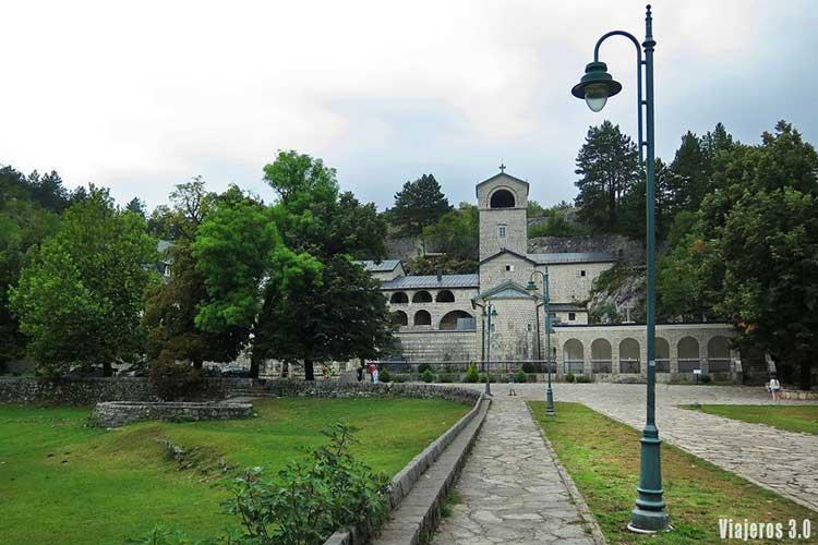 monasterio de Cetinje, guía de Montenegro