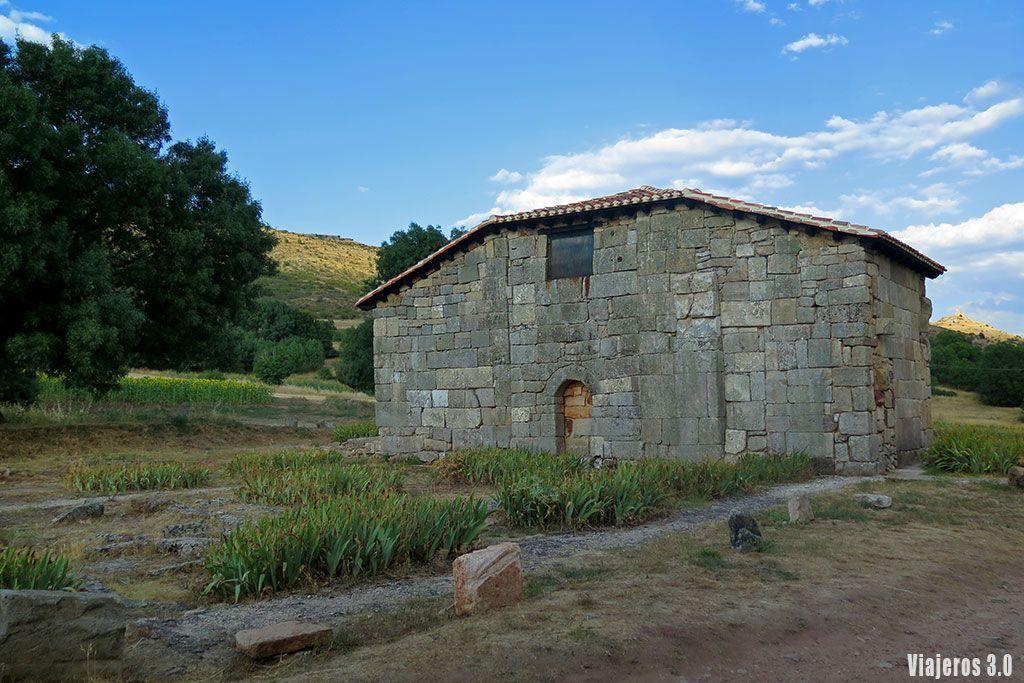 Ermita visigoda en la Comarca del Arlanza.