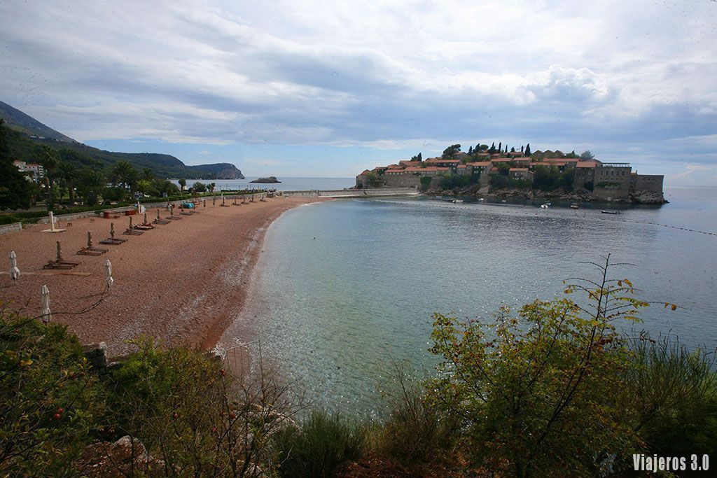 playas de Sveti Stefan
