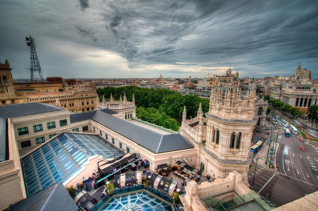 Terraza Cibeles Madrid Viajeros 3 0 Blog De Viajes