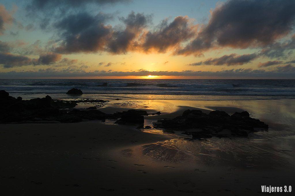 Atardecer en el Cotillo, las mejores playas de Fuerteventura
