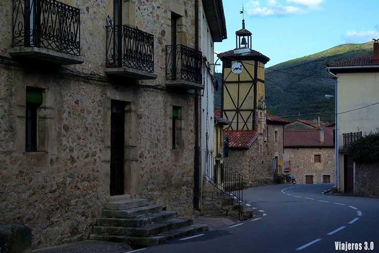 Canales de la Sierra en La Rioja.