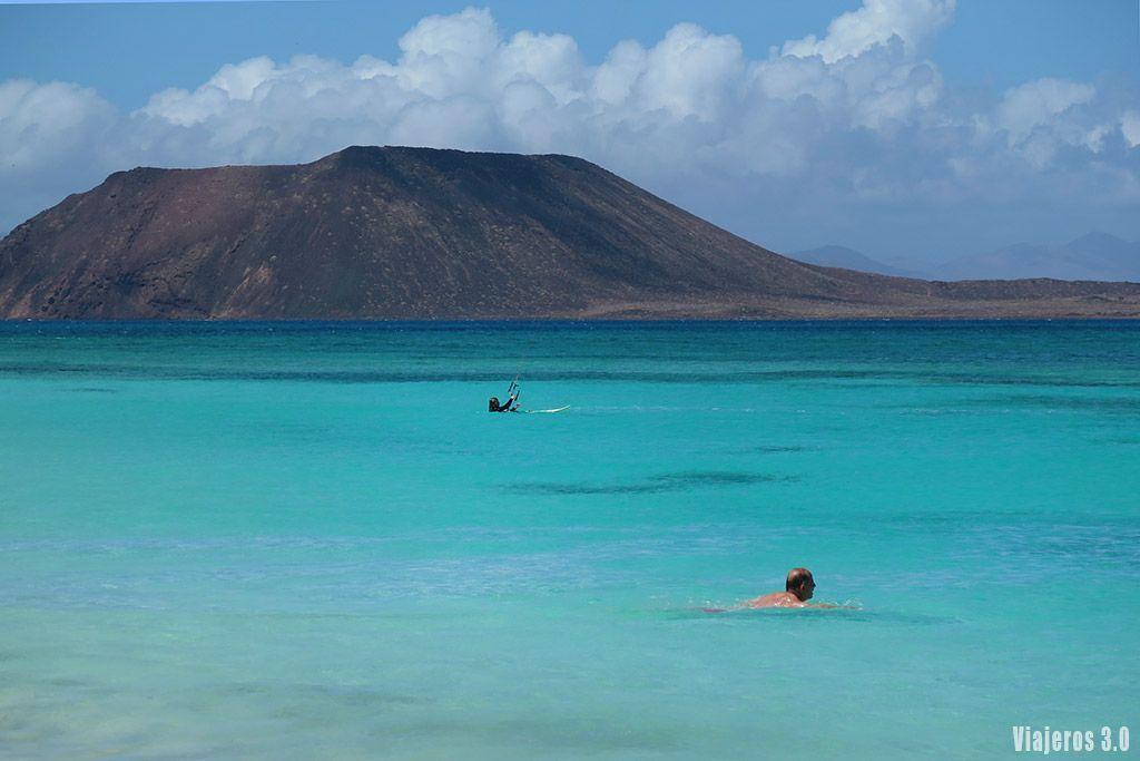grandes playas de Corralejo, ruta por Fuerteventura en 4 días