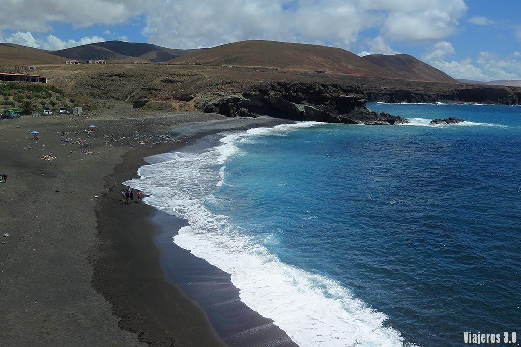 playa de Ajuy, las mejores playas de Fuerteventura