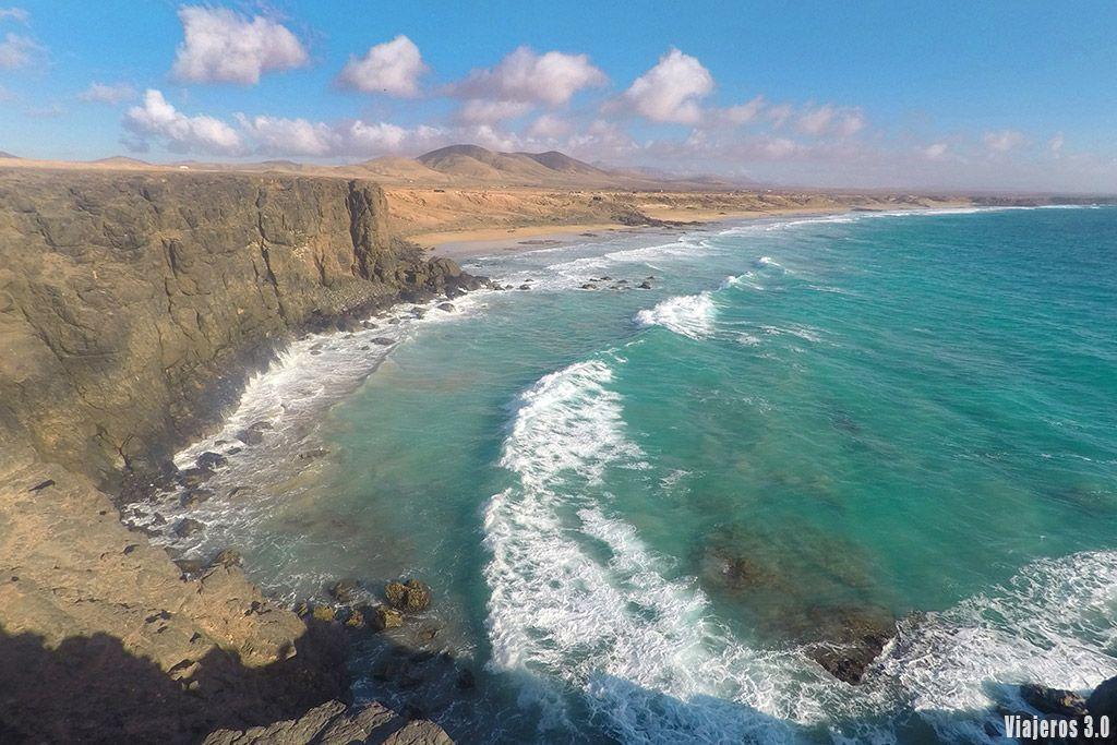 playa del Castillo, Ruta por Fuerteventura en 4 días