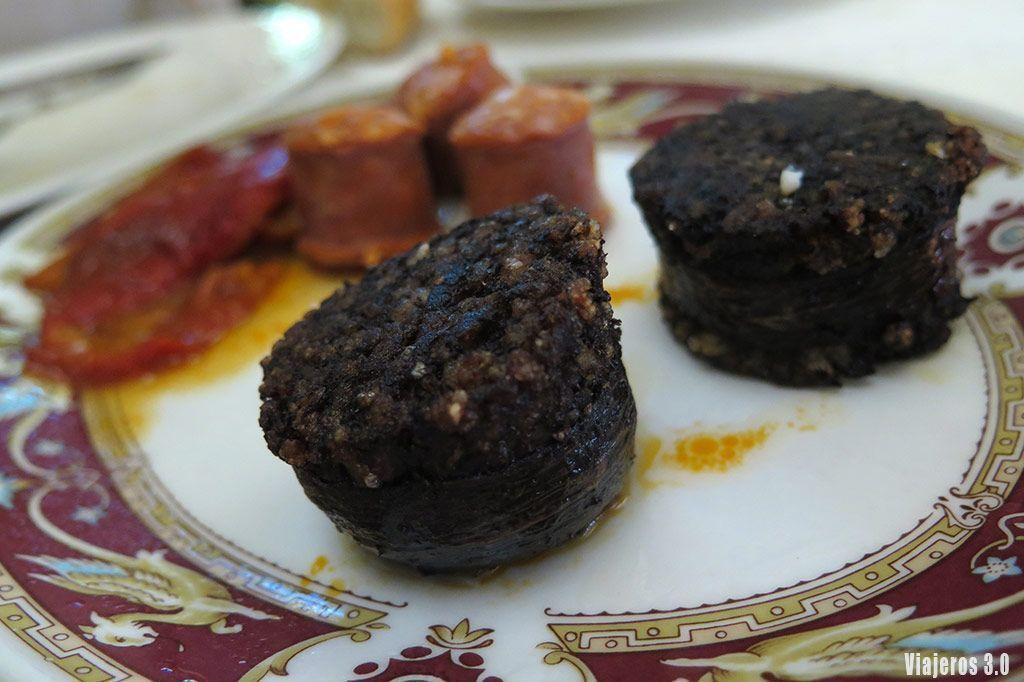 morcilla, donde comer lechazo en Burgos