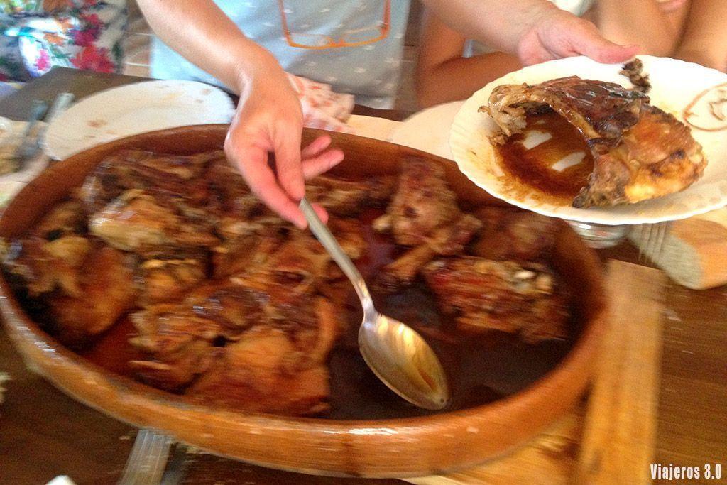 dónde comer lechazo en Burgos