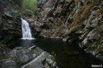 Cascadas en el curso del río Cambrones, ruta por las 7 Villas