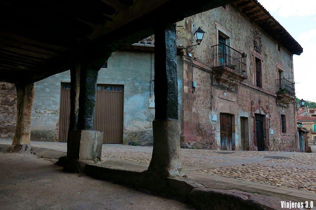 arquitectura de Villavelayo en las 7 Villas de La Rioja