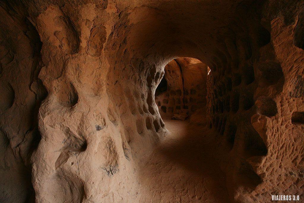 qué ver Arnedo, cuevas de los cien pilares