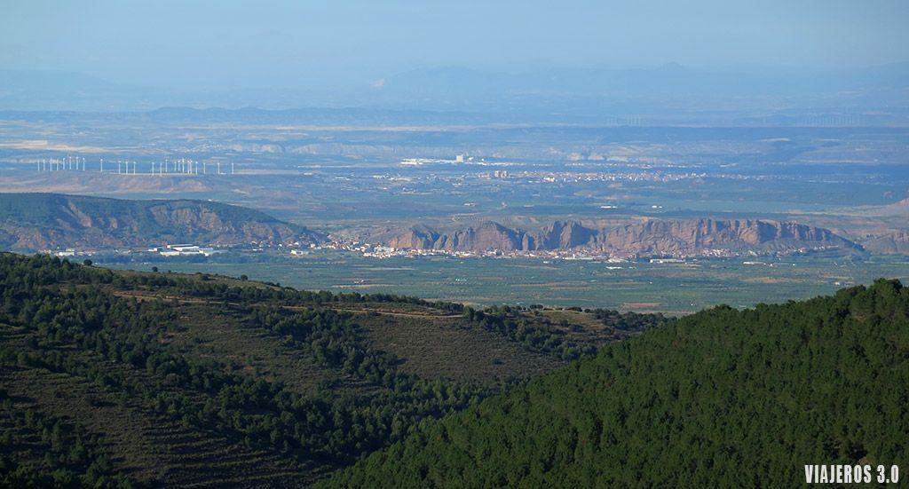 Valle del Cidacos en La Rioja Baja.