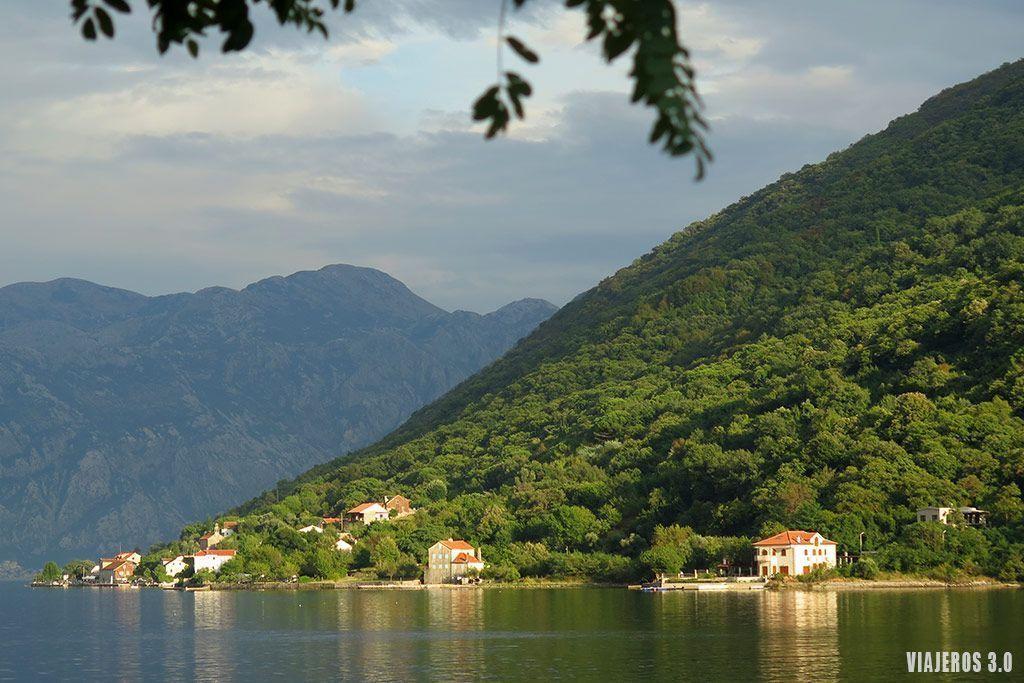 bonitos paisajes que ver en la Bahía de Kotor