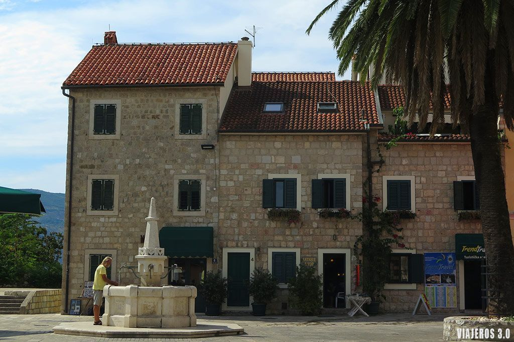 Casco Viejo de Herceg Novi, ruta por la Bahía de Kotor qué ver en dos días.