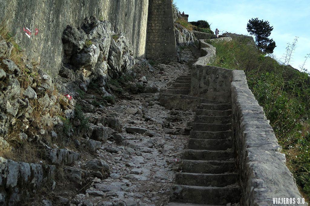 murallas de Kotor, qué ver en la Bahía de Kotor