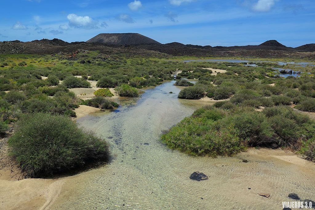 Las Lagunitas, qué ver en la isla de Lobos