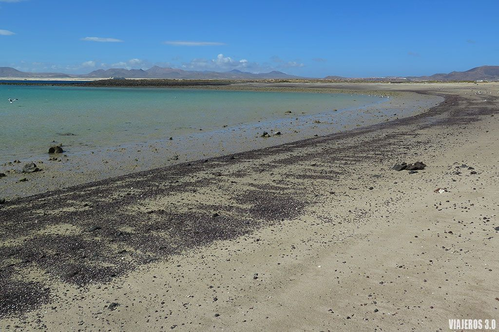 playa de la Concha en la isla de Lobos