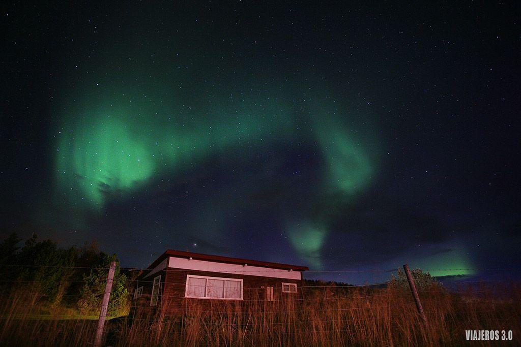 ver auroras boreales en Islandia por primera vez