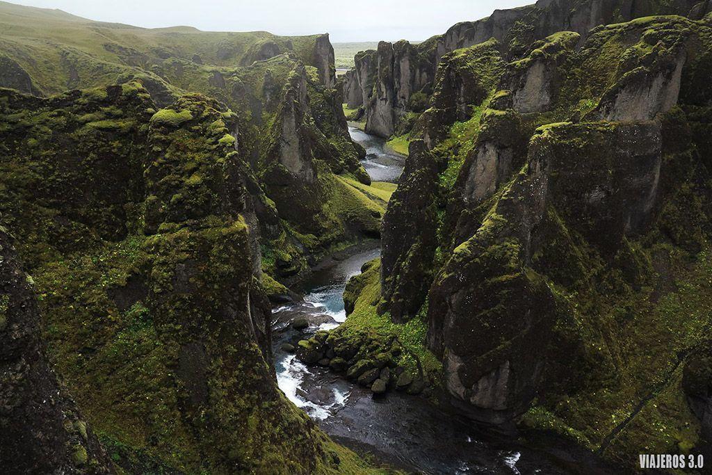 Cañón Fjadrargljufur, ruta por Islandia en 2 semanas
