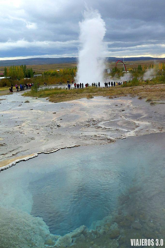 Geysir, ruta por Islandia