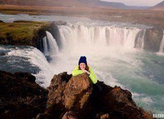 cascada Godafoss, viajar a Islandia en septiembre