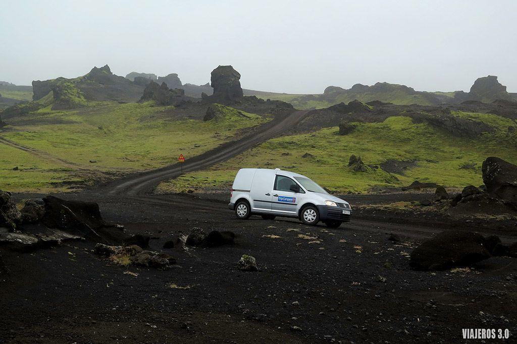 Camping Þakgil, 15 días en Islandia