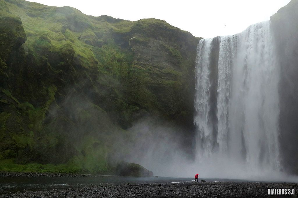 Skogafoss, las cascadas de Islandia más bonitas