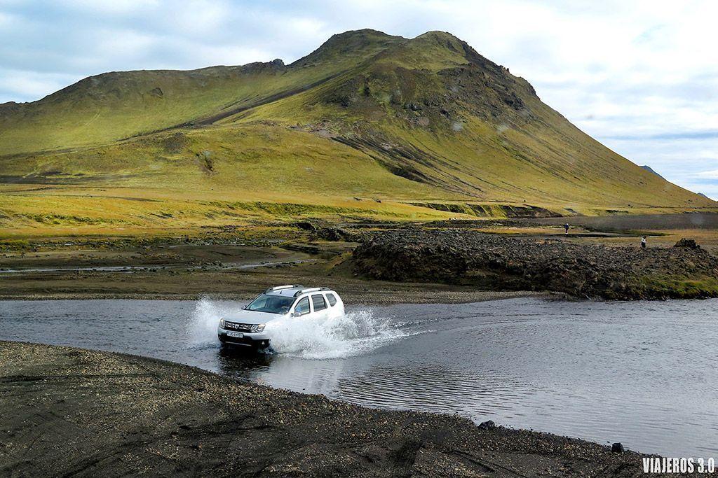 cómo llegar a Landmannalaugar