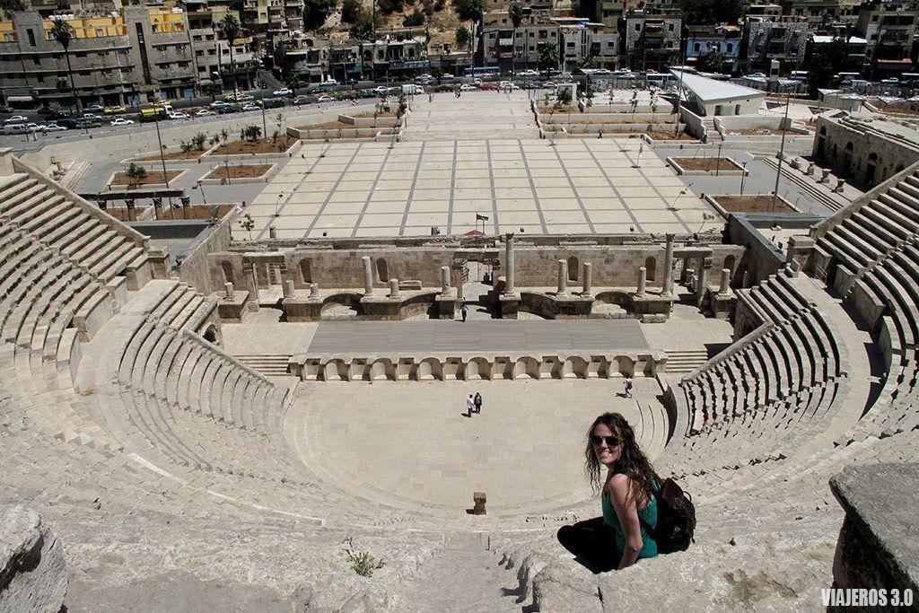 Teatro romano, ruta por Jordania en una semana