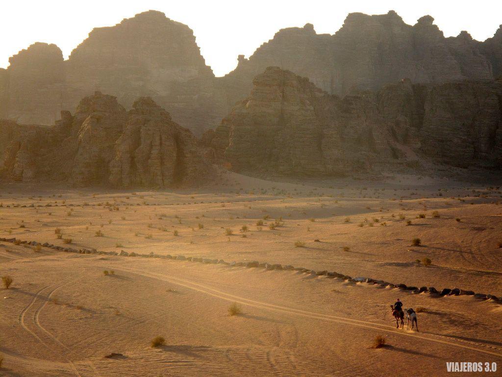 desierto del Wadi Rum, ruta por Jordania en una semana