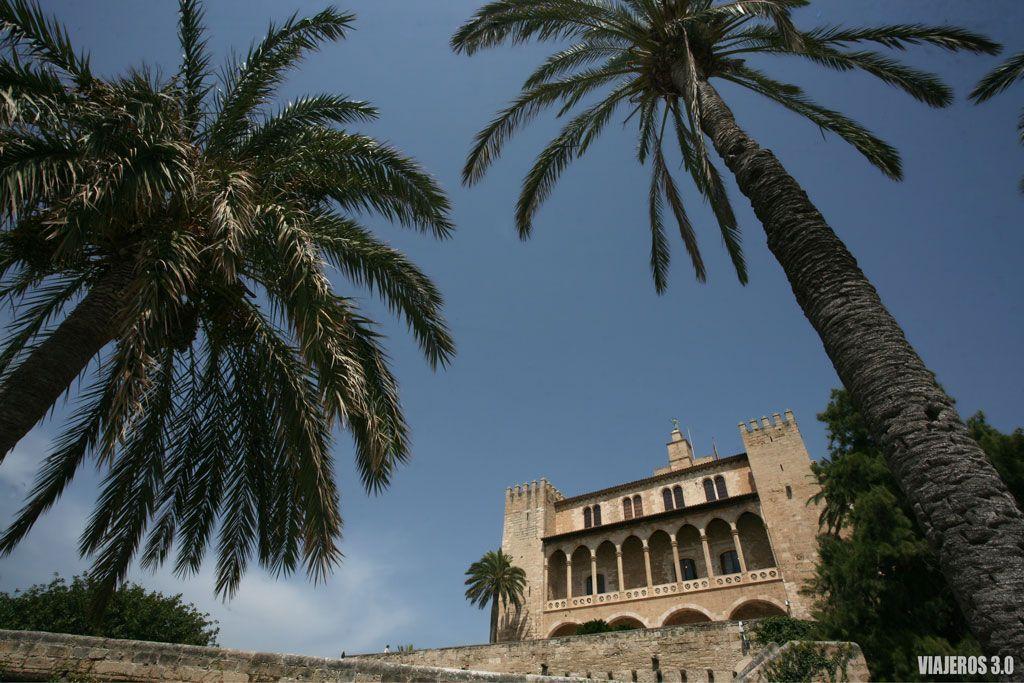 Palma de Mallorca, palacio de la Almudaina