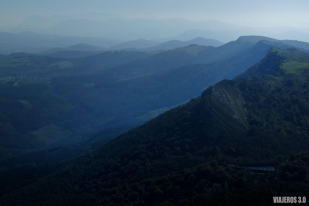 que ver en Gorbea, senderismo a otras cimas