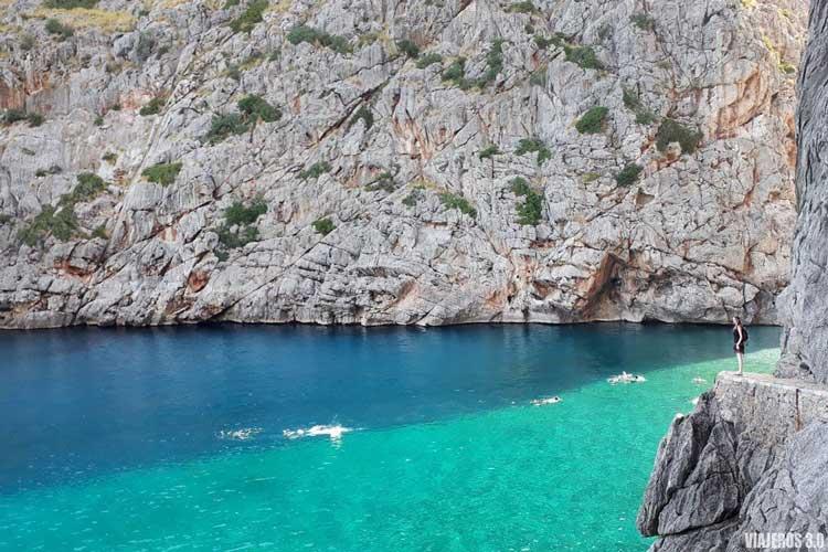 Sa Calobra en Tramontana, ruta por Mallorca en una semana