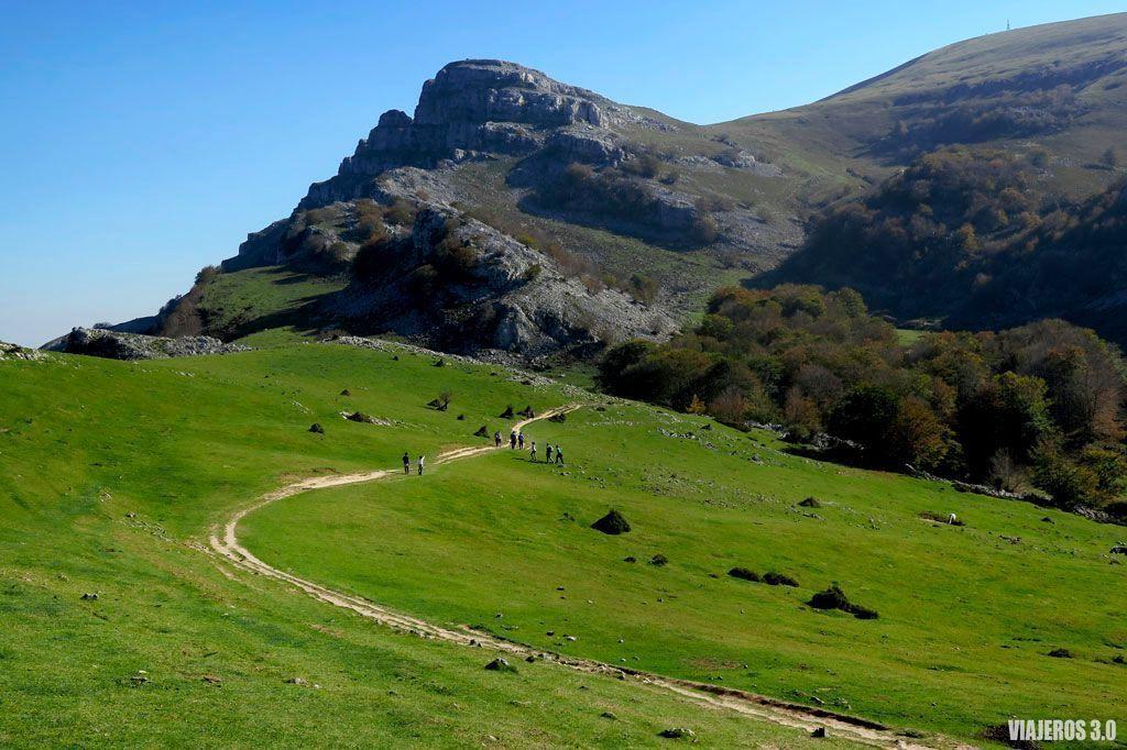 que ver en Gorbea, ascenso al pico Gorbea