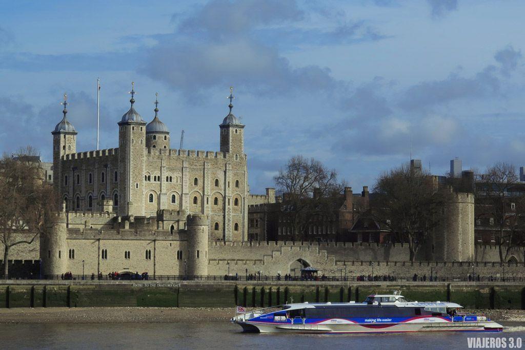 Torre de Londres que visitar en Londres en 1 o 2 días