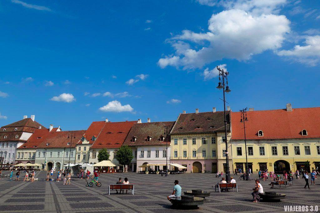 Sibiu en Rumanía, destinos europeos para descubrir en 2018