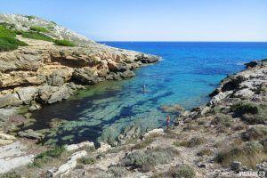 Cala Estreta en Mallorca